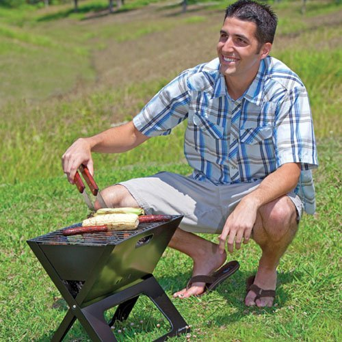 X Grill Compact Portable Charcoal Grill