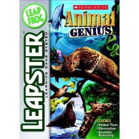 leapfrog leapster learning game scholastic animal genius - Leapster Handheld Games