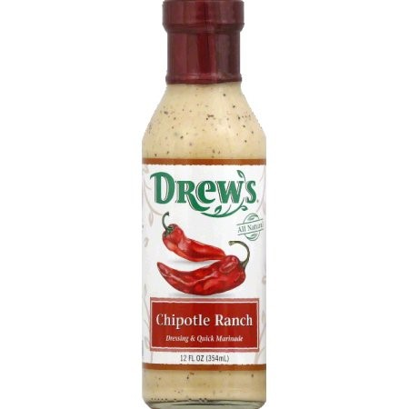 Drew's All Natural Dressing Chipotle Ranch 12 fl oz by Drew's All Natural
