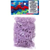 Rainbow Loom Glow in the Dark Purple Rubber Bands Refill Pack [600 ct]
