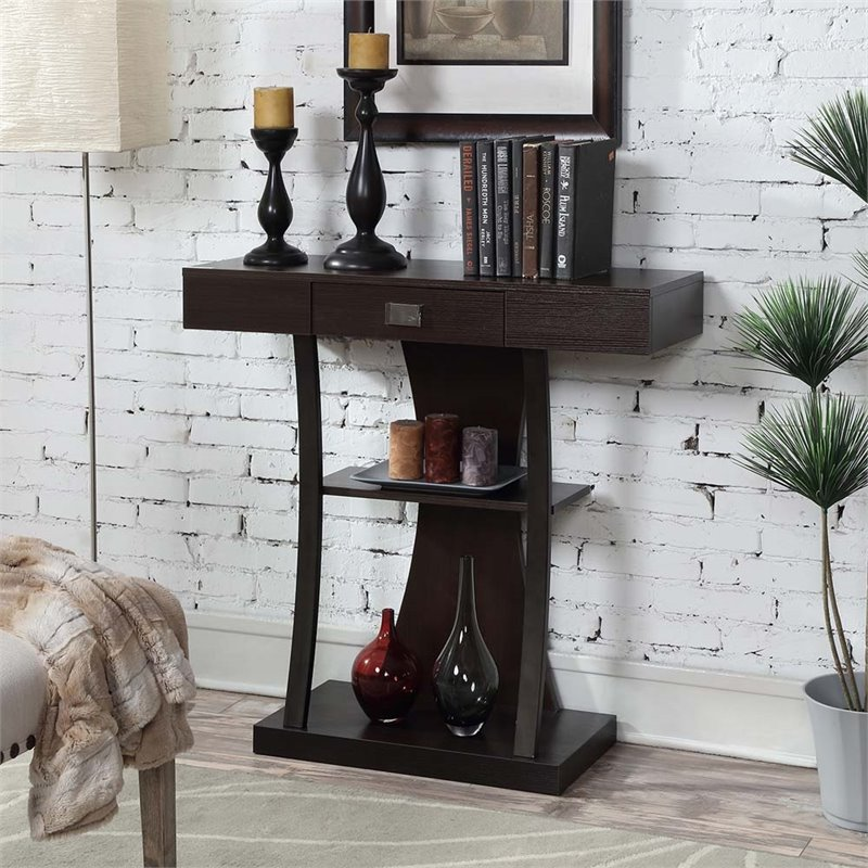 Convenience Concepts Newport Harri Console Table