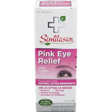 Similasan Pink Eye Relief Sterile Eye Drops, 0.33 fl.