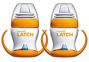 Munchkin Latch 4 Ounce Transition Trainer Cup, 2 Pack by Munchkin