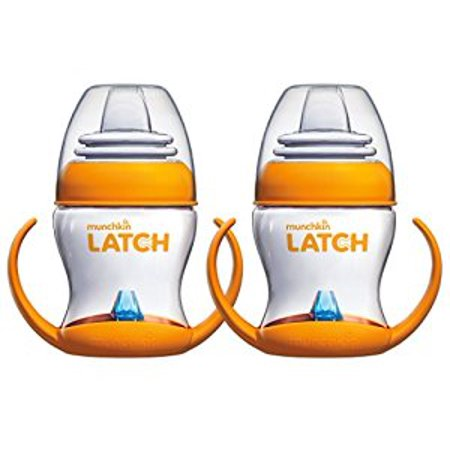 Munchkin Latch 4 Ounce Transition Trainer Cup, 2 Pack