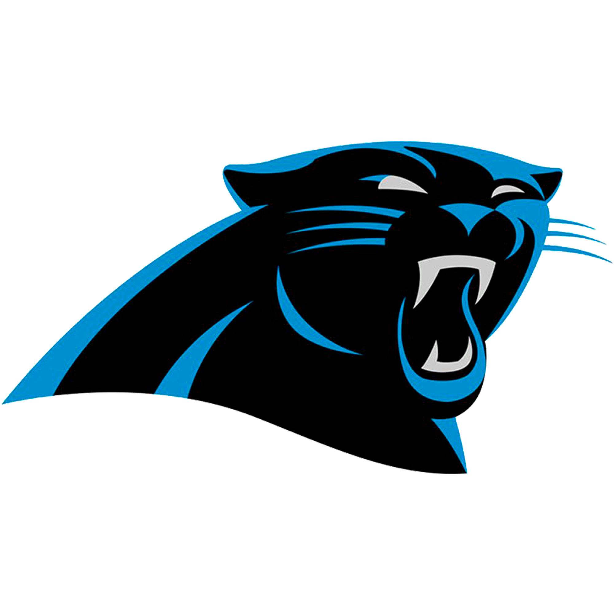Carolina Panthers Fathead Logo Giant Removable Decal - No Size