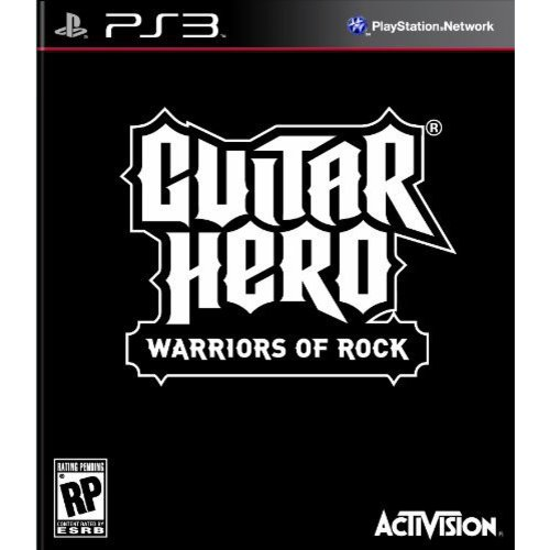Guitar Hero 6: Warriors of Rock - game only (PS3)