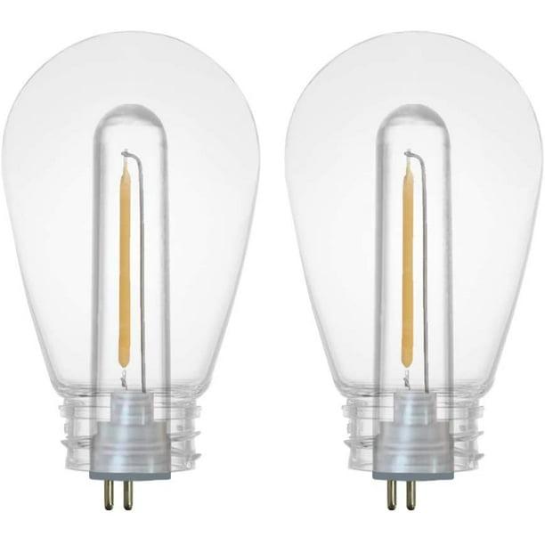 Sunthin Dimmable 1w Led Light Bulbs, Warm White Led Outdoor Light Bulbs