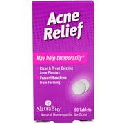 NatraBio  Acne Relief  60 Tablets