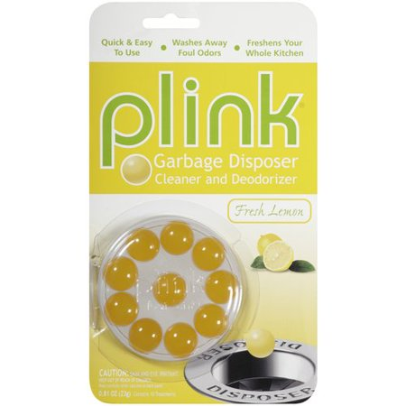 Plink Fresh Lemon Garbage Disposer Cleaner and Deodorizer, 0.81 oz