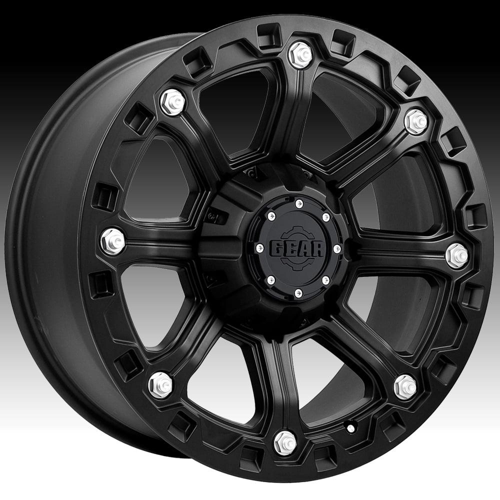 Gear Alloy 718B Blackjack Carbon Black 20x9 6x135   6x5.5 18mm (718B-2096818) by Gear Alloy