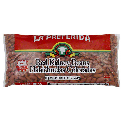 La Preferida Red Kidney Beans, 16 oz (Pack of 24)
