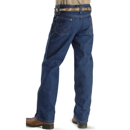 46cbb928b05 WRANGLER - Wrangler Boys George Strait Original Cowboy Cut Jeans - Dark  Wash - Walmart.com