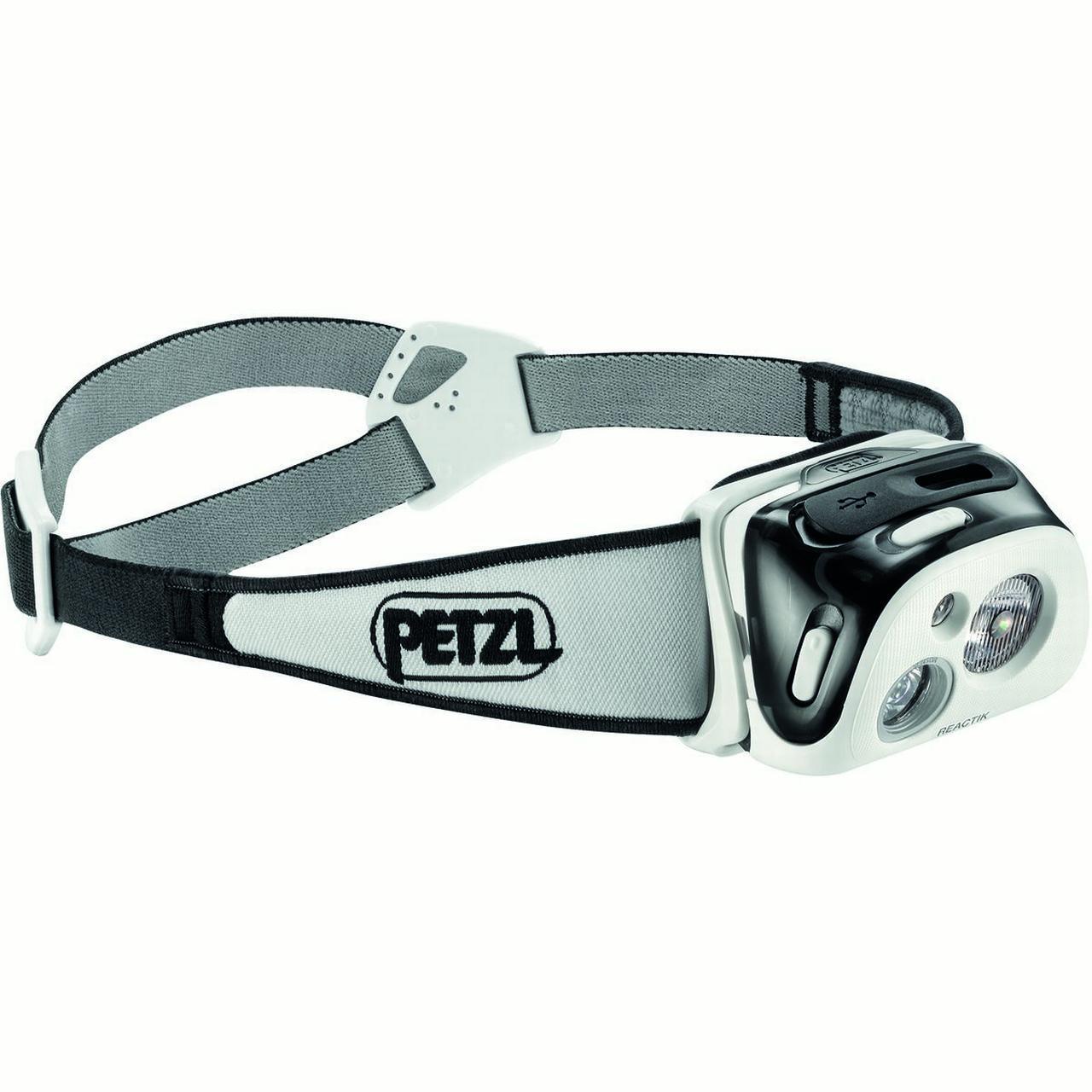 Petzl - E92HNE - REACTIK -  Compact Headlamp - 190 Lumens