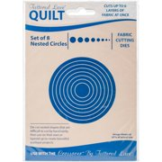 Tattered Lace Quilt Die Cut-Circles Set Of 8