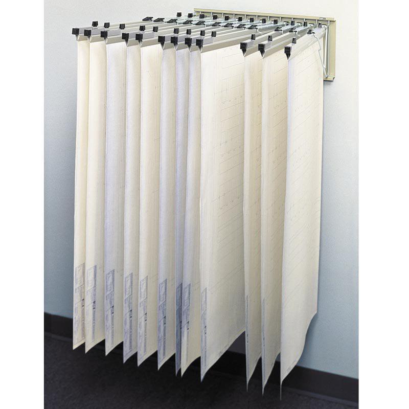 Safco Pivot Wall Rack