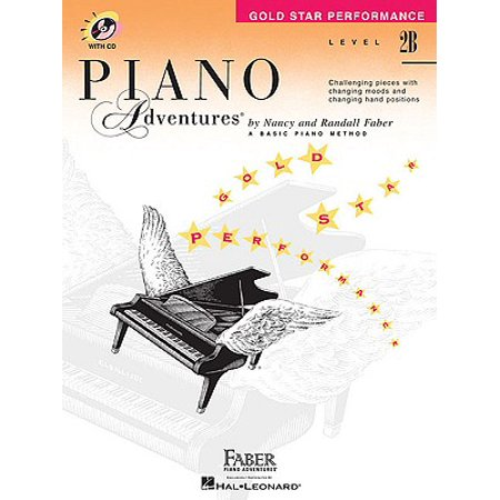 Gold Star Piano (Level 2b - Gold Star Performance with CD : Piano Adventures)