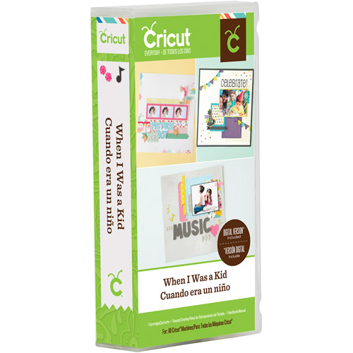 Cricut Cartridge, When I Was A Kid