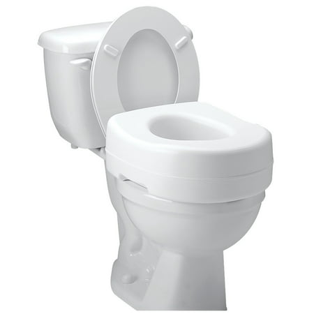 Astonishing Carex Toilet Seat Riser Raised Toilet Seat With 300 Pound Onthecornerstone Fun Painted Chair Ideas Images Onthecornerstoneorg