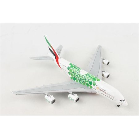 GEMINI EMIRATES A380 1/400 EXPO 2020 GREEN (Emirates 1 400)