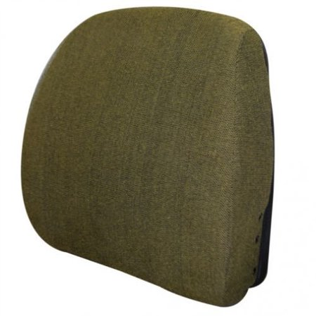 Backrest, Hydraulic or Mechanical Seat, Fabric, Brown, New, John Deere,
