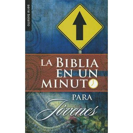 La Biblia en un Minuto: Para Jovenes (La Cura En Un Minuto)