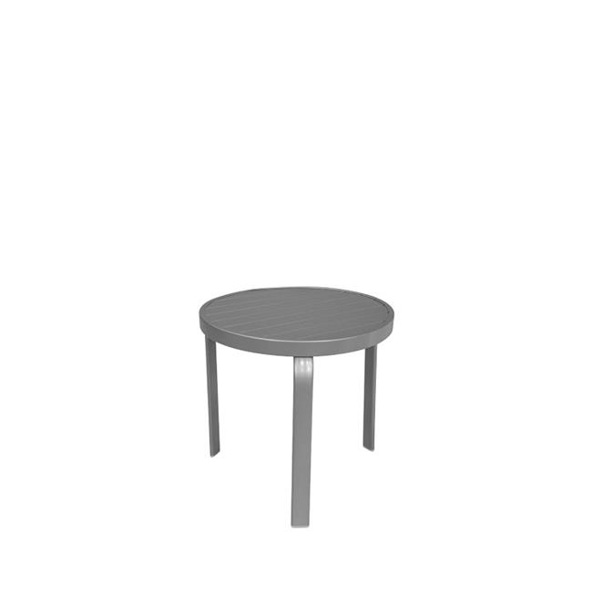 Source Outdoor SO-3005-322 Atlantic Round Shaped Side Table by Source Outdoor