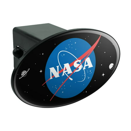Halloween 2 Official Trailer (NASA Official Meatball Logo Oval Tow Trailer Hitch Cover Plug)