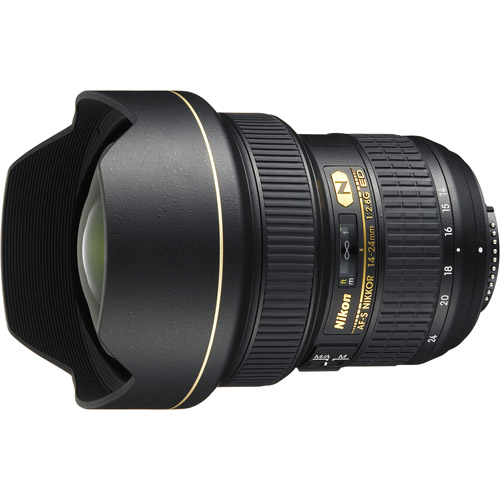 Nikon AF-S Nikkor 14-24mm f/2.8G Ultra Wide-Angle Zoom Lens, 2163