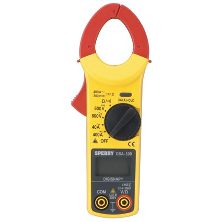 5 Function 400 Amp Digital Non Contact Snap Around Clamp Meter