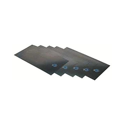 Precision Brand Steel Shim Stock Sheets - 16an5.005 6''x18''steel shim flat sheets