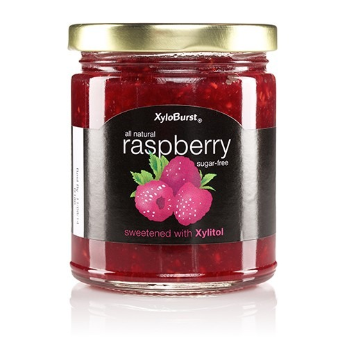 Raspberry Fruit Jam XyloBurst 10 oz Glass Jar