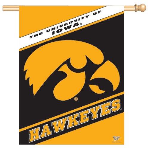 Wincraft, Inc. Collegiate Banner / Vertical Flag - University of Iowa