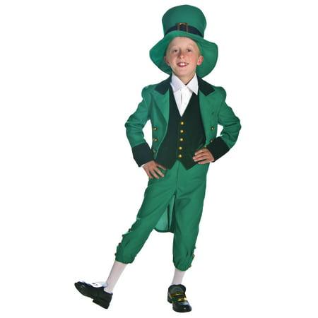 Kids Leprechaun Costume (St David's Day Costume Boys)