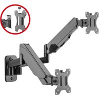 """SIIG CE-MT2M12-S1 Mounting Arm for 32"""" Monitor - Black"""