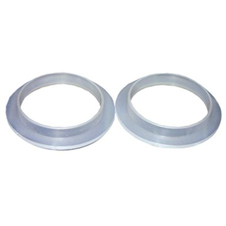 02-2051 2 Pack, 1.31 x 1.71 in. Flanged Plastic Sink Connection Washer - Pack Of 6 ()