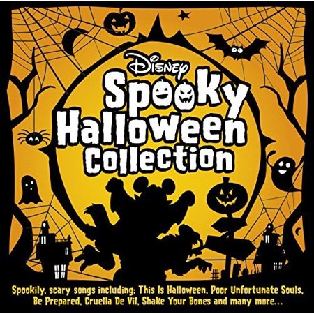 Disney Spooky Halloween Collection / Various](1 Hour Of Halloween Music For Kids)