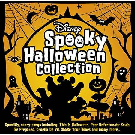 Disney Spooky Halloween Collection / Various - Spooky Halloween Playlist For Kids