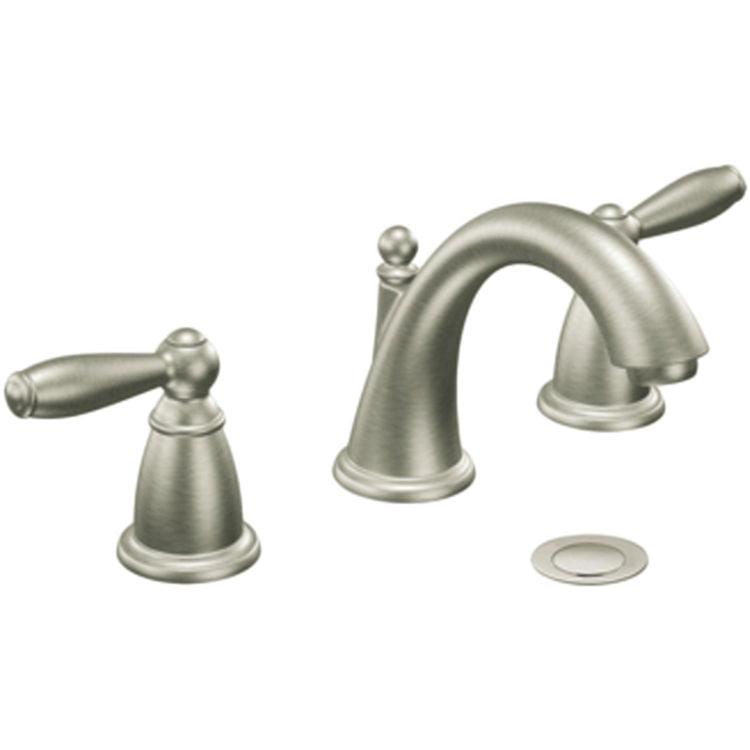 MOEN CAT6620BN Brushed Nickel Bath Sink Faucet Trim Two-H...