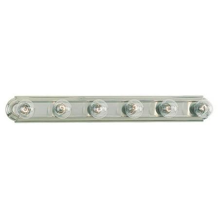 Sea Gull De-Lovely Bathroom Light Bar - 36W in. Brushed Nickel