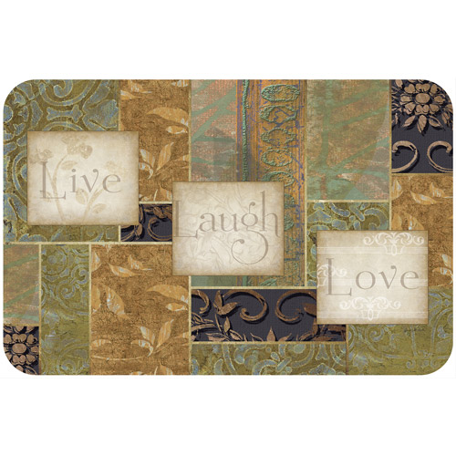 CounterArt Inspiration Live Laugh Love Placemat by CONIMAR