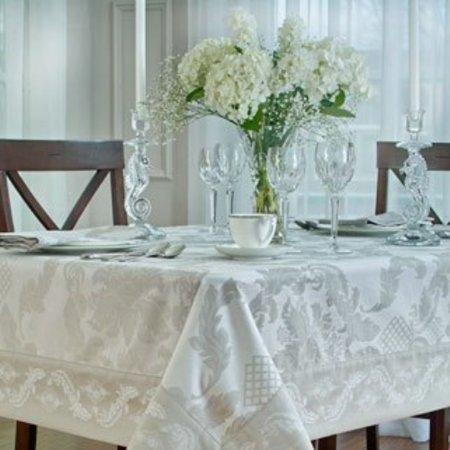 Waterford Damascus Moonstone Table Cloth 70
