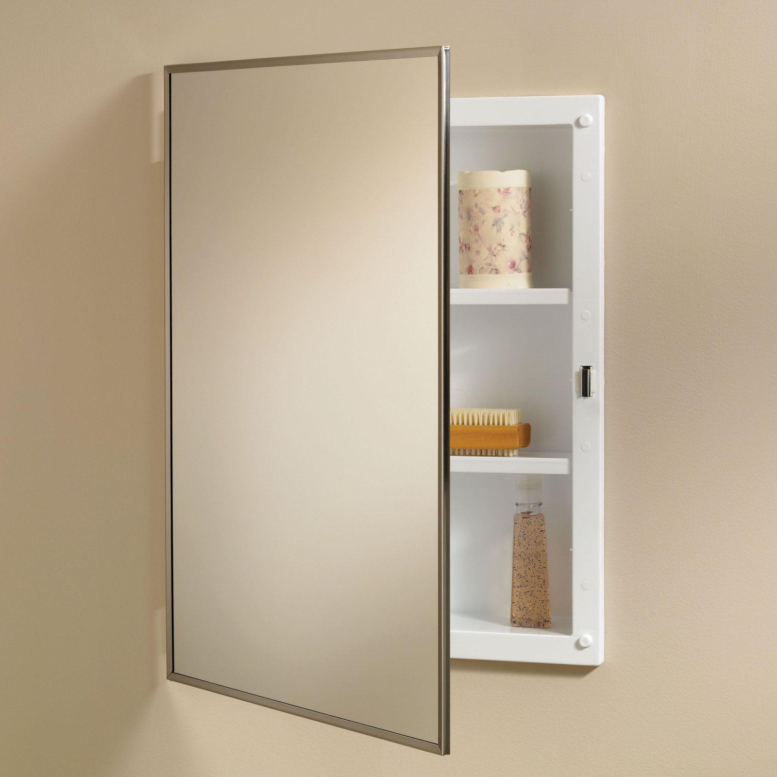 Jensen Medicine Cabinet Styleline 16W x 22H in. Recessed ...