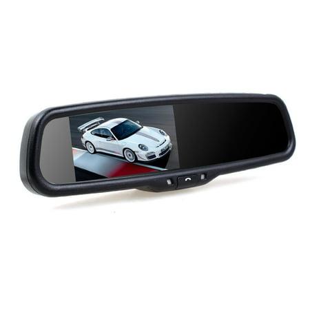 Auto Vox 4 3  Bluetooth Car Rear View Mirror Monitor With Dual Video Inputs  Auto Adjust Brightness Parking Monitor Car Video Mirror For Toyota Honda Jeep Dodge