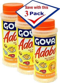 Goya Adobo with Bitter Orange 16.5 Oz Pack of 3 by