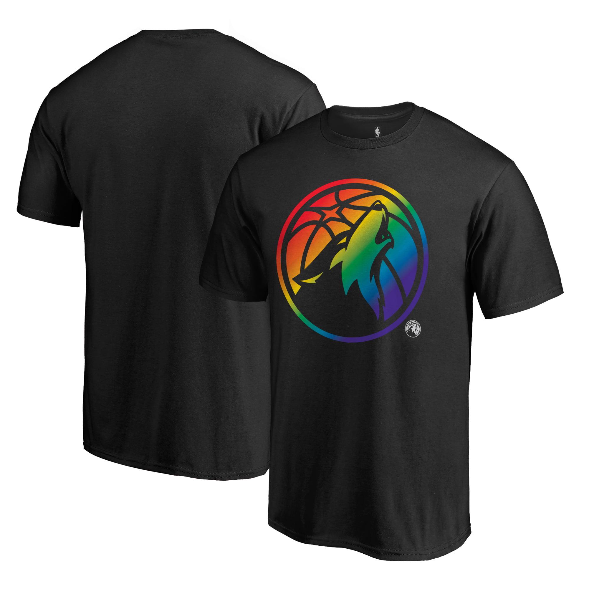 Minnesota Timberwolves Fanatics Branded Team Pride T-Shirt - Black