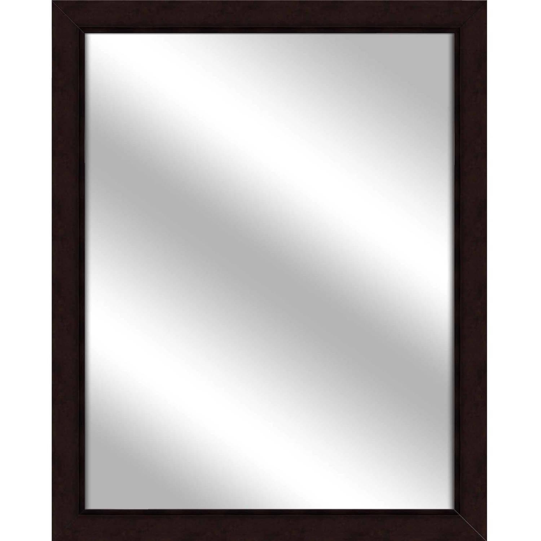 Vanity Mirror, Dark Bronze, 24.75x30.75 by PTM Images