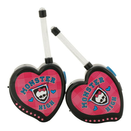 Sakar 78048-SCULPT-WM Monster High Walkie Talkie (Walkie Talkie Set)