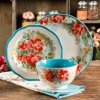 The Pioneer Woman Vintage Floral Dinnerware Set, 12 Piece
