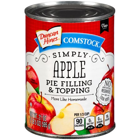 Duncan Hines Comstock Simply Apple Pie Filling &