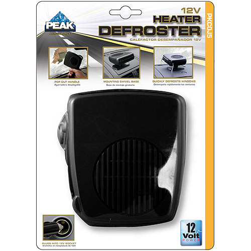 Peak 2-in-1 12V Heater/Defroster